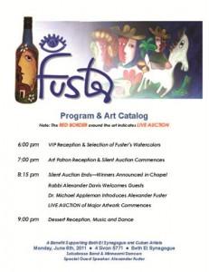 Cuban Art Event Program #1