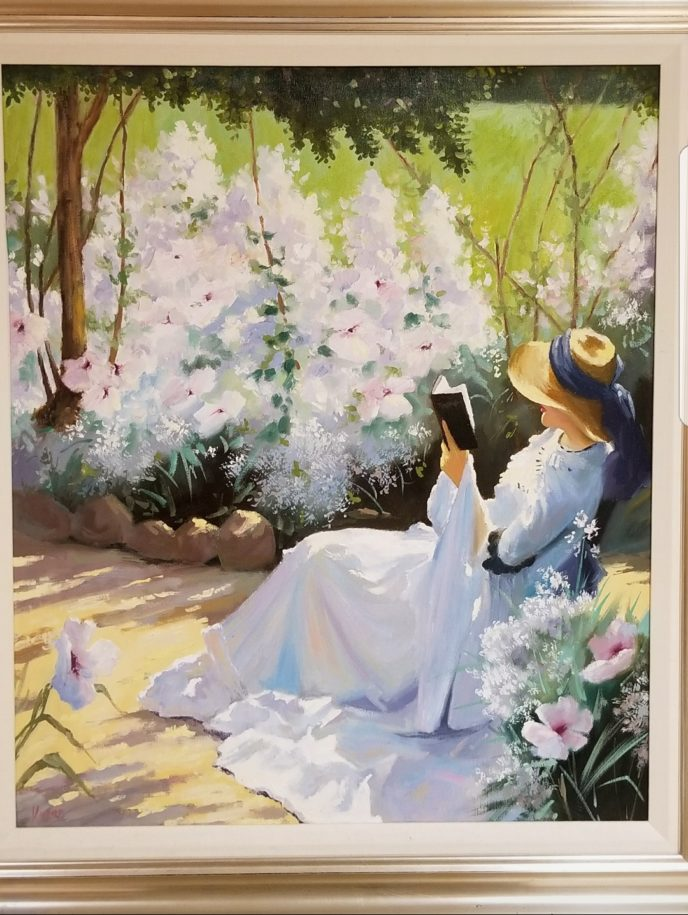 Woman Gardening /  by Unknown