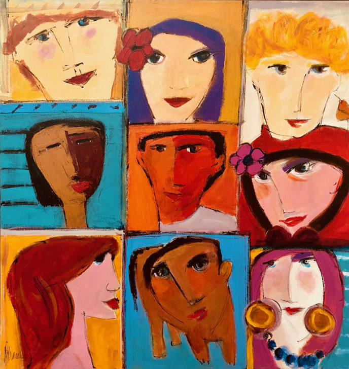 Class of 9 /  by Herson - Israeli Artist