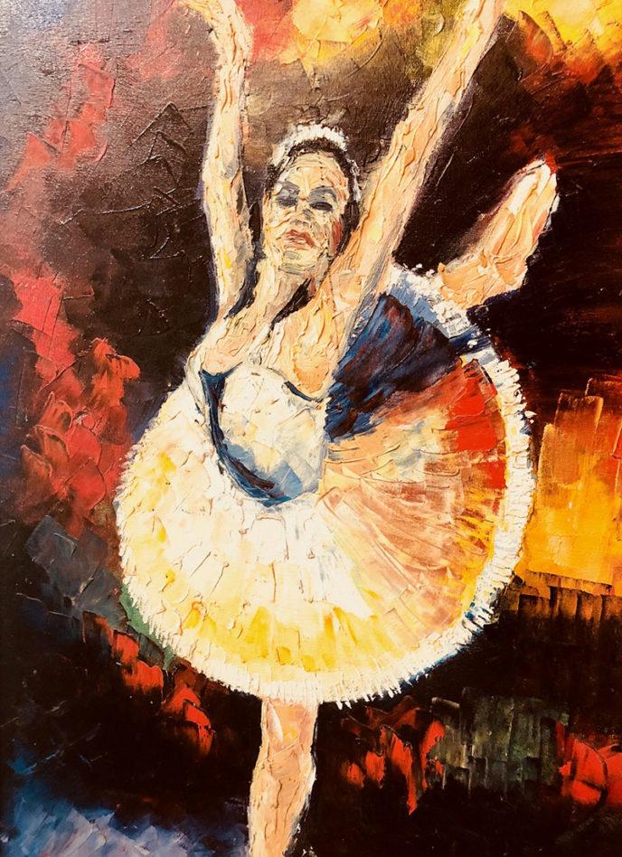 Ballerina / Bailarina by Maikel