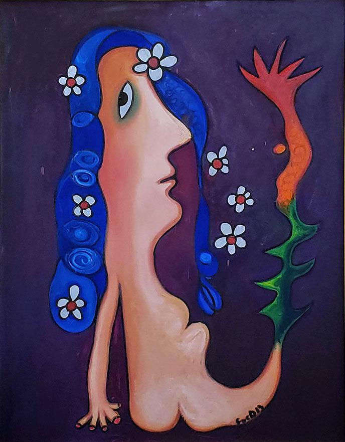 Mermaid / Sirena by Fuster