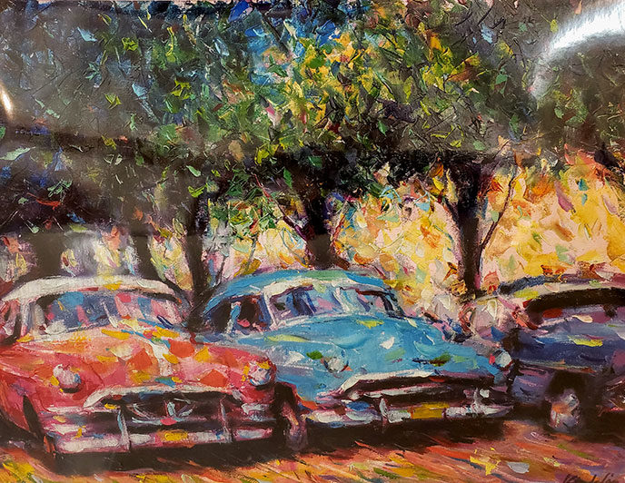 Charming Park Cars / Encantadores Coches del Parque by Kinderlon