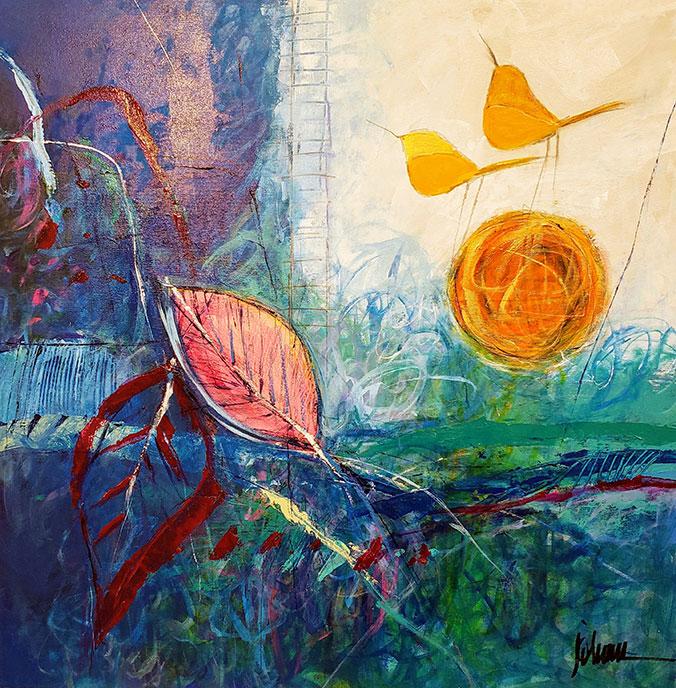 Bird on Fantasy /  by Herson - Israeli Artist