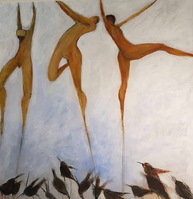 Muses /  by Herson - Israeli Artist
